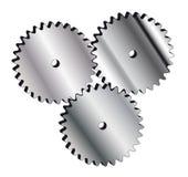 Cogwheel. Metal cogwheel for web and business cards Stock Photos