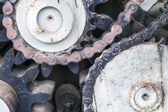 Cogwheel of old Industry Royalty Free Stock Photos