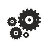 Cogwheel pattern Royalty Free Stock Photography