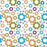 The cogwheel pattern Stock Photos