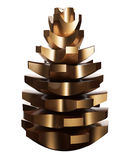 Cogwheel Pinecone Διανυσματική απεικόνιση