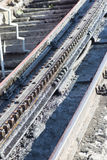 Cogwheel railway Royalty Free Stock Photos