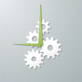 Cogwheel watch background. Stock Images