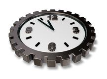 Cogwheel watch Stock Photo