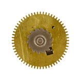 Cogwheel on white background Stock Photography