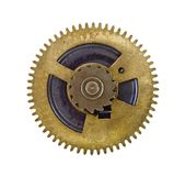 Cogwheel on white background Royalty Free Stock Photo