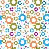 Cogwheel wzór Zdjęcia Stock