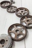 cogwheels βιομηχανικά Στοκ φωτογραφία με δικαίωμα ελεύθερης χρήσης