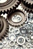 cogwheels καρύδια Στοκ Εικόνα