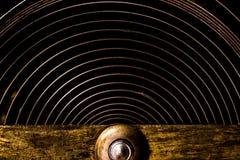 Cogwheels в старых часах Стоковая Фотография