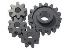 cogwheels малые Стоковые Изображения