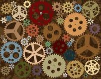 cogwheels предпосылки Стоковые Фотографии RF