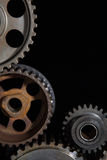 cogwheels промышленные Стоковая Фотография