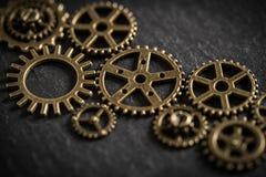 Cogwheels символизируя сыгранность Стоковая Фотография RF