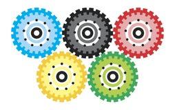 cogwheels Image stock