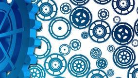 Cogwheels 3D Fotografia Royalty Free