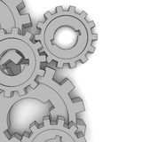 Cogwheels. Business network - isolated illustration on white vector illustration