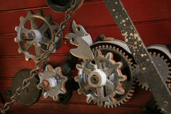 Cogwheels Stock Photography