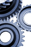 Cogwheels closeup Royalty Free Stock Image
