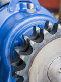 Cogwheels driveshaft Στοκ Εικόνες