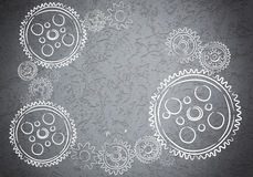 Cogwheels and gears Royalty Free Stock Photo
