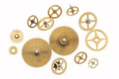 cogwheels little många som är gammala Arkivfoton