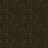Cogwheels seamless pattern Stock Photos
