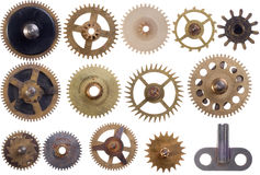 Cogwheels set Royalty Free Stock Image