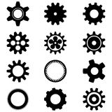 Cogwheels  on white background Stock Images