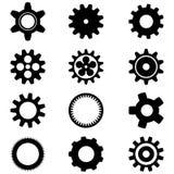 Cogwheels  on white background Stock Images