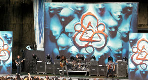 Coheed and Cambria Live! Stock Photos