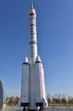 Cohete aeroespacial chino Foto de archivo