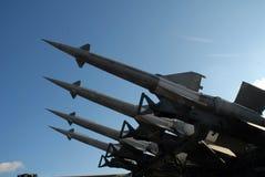 Cohete anti 5B27 de los aviones Imagen de archivo libre de regalías