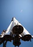 Cohete de espacio imagen de archivo