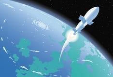 Cohete de espacio Imágenes de archivo libres de regalías
