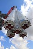 Cohete de espacio Fotografía de archivo libre de regalías