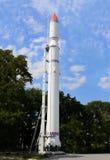 Cohete de espacio Imagen de archivo libre de regalías