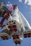 Cohete de la nave espacial Imágenes de archivo libres de regalías