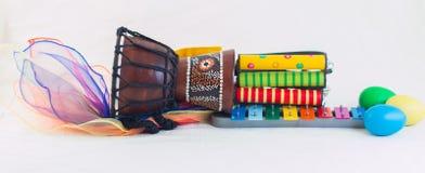 Cohete de los instrumentos del ritmo Foto de archivo