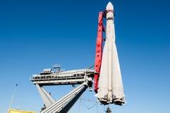 Cohete de portador soviético de espacio Imagenes de archivo