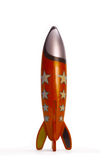 Cohete del juguete Imágenes de archivo libres de regalías