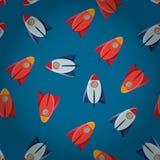 Cohete del juguete del espacio Imagen de archivo libre de regalías