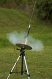 Cohete modelo Foto de archivo libre de regalías