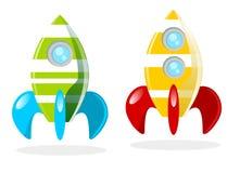 Cohetes Arkivbild