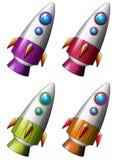 cohetes stock de ilustración