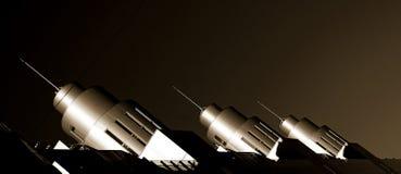 cohetes Foto de archivo libre de regalías