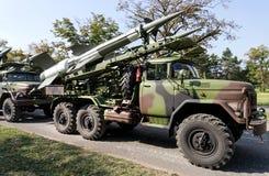 Cohetes antiaéreos foto de archivo libre de regalías