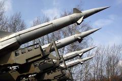 Cohetes del lanzador Imagen de archivo