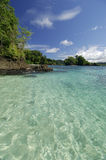 Coiba island. Hermosa beach point, Coiba island, Veraguas Province, Panama, Central America Stock Photography