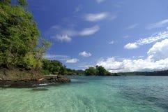 Coiba island. Hermosa beach point, Coiba island, Veraguas Province, Panama, Central America Stock Photo